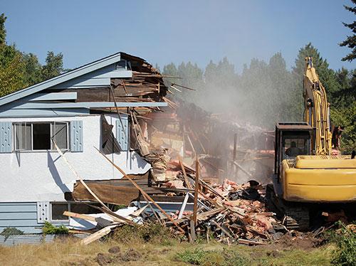 home-demolition